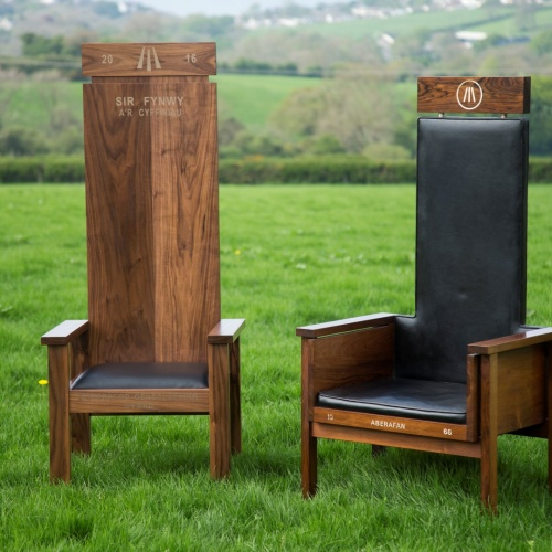2016 Chair with 1966 Chair