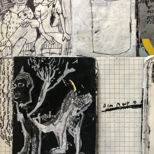 Elin Lisabeth Williams Ideas and sketch books (ink on paper) http://elinlisabeth.com/